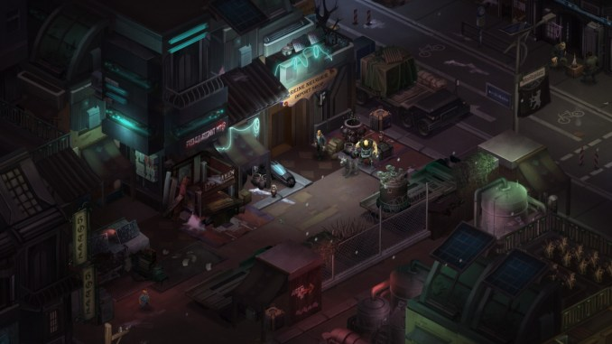 Shadowrun: Dragonfall - Director's Cut screenshot 2