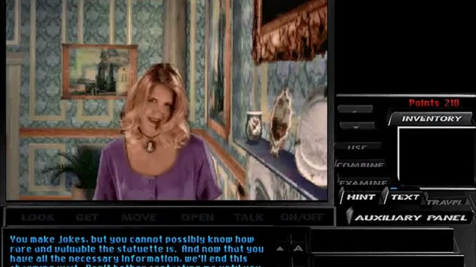 Tex Murphy: Under a Killing Moon screenshot 2