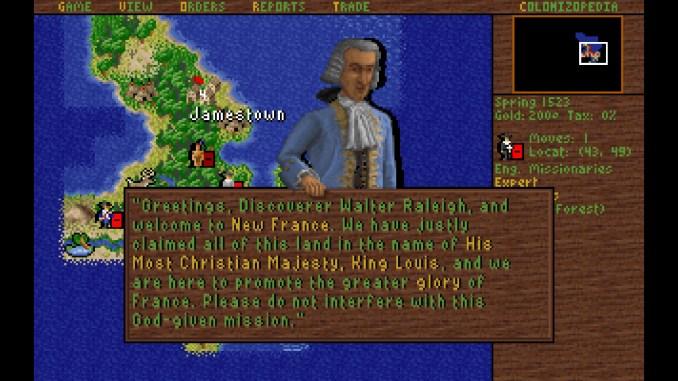 Sid Meier's Colonization screenshot 3