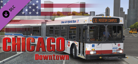 OMSI 2 - Chicago Downtown DLC (@ Steam)