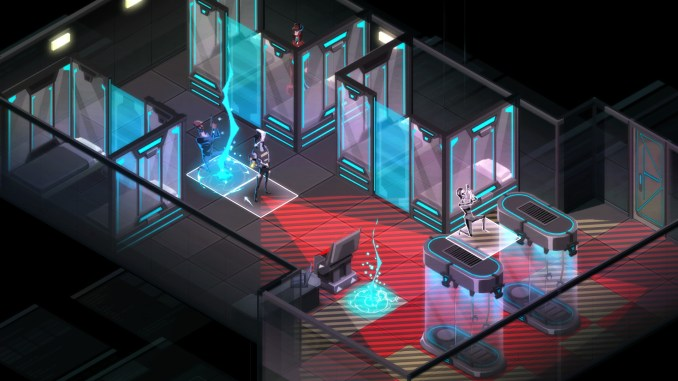 Invisible, Inc. Contingency Plan screenshot 1