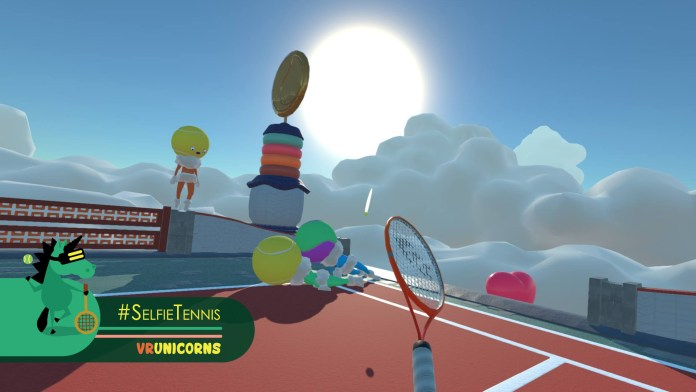 If you wanted to see what tennis would be like in the clouds with a lot of pastel colors, this is the game for you!