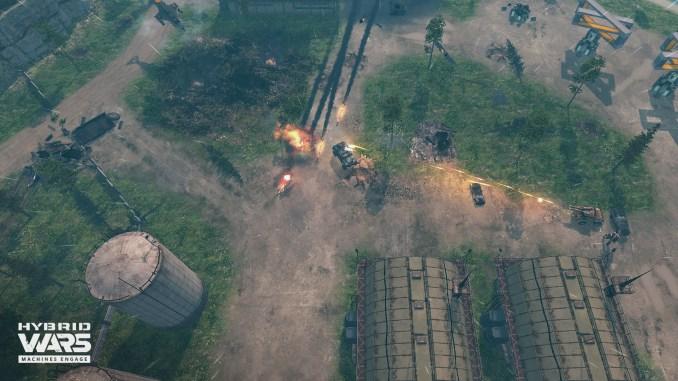 Hybrid Wars screenshot 1