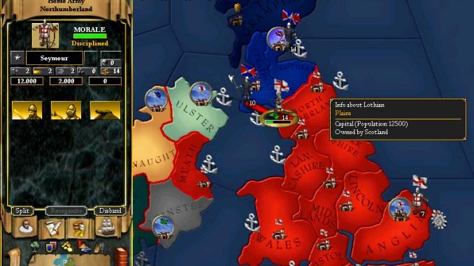 For The Glory: A Europa Universalis Game screenshot 1