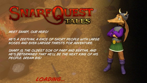 SnarfQuest Tales Episode 1 The Beginning-PLAZA