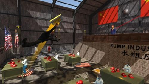 Das Spiel zeigt deutliche Parallelen zum geistigen Vorvater - dem Goat Simulator.