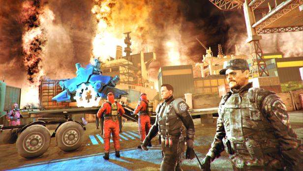 GEAR GUNS Tank Offensive-CODEX-3 - Game Screenshot