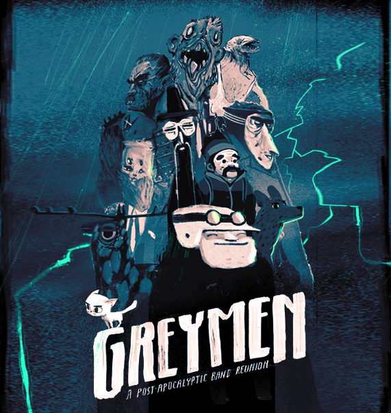 GREYMEN: A Post-Apocalyptic Band Reunion