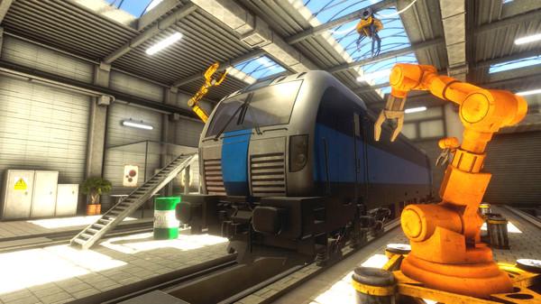 Train Mechanic Simulator 2016 skidrow
