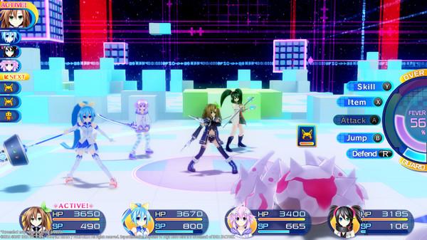 Superdimension Neptune VS Sega Hard Girls Free Download