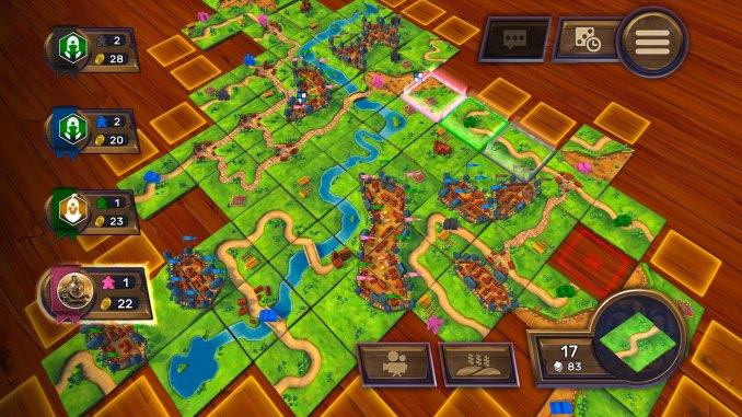 Carcassonne - Tiles & Tactics screenshot 1