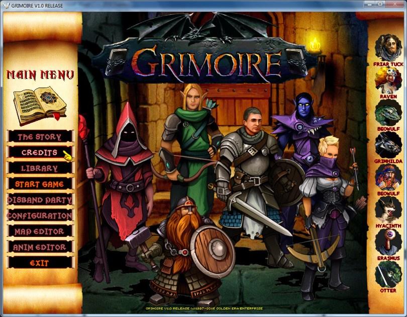 Grimoire: Heralds of the Winged Exemplar Download