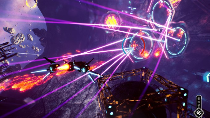 Redout: Space Assault screenshot 2