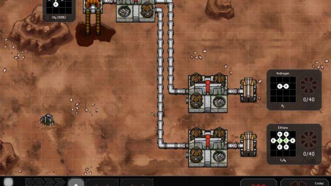 SpaceChem screenshot 1