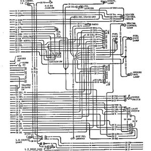 wiring diagram for 1967 chevelle horn relay