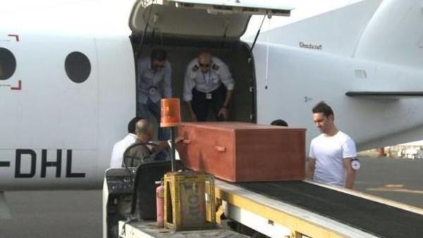 جثة الطيار المغربي