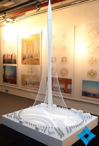 """محمد بن راشد يختار تصميم تحفة معمارية جديدة في """"خور دبي"""""""