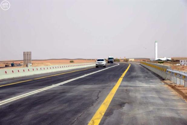 وزارة النقل تفتتح جسر الثمامة