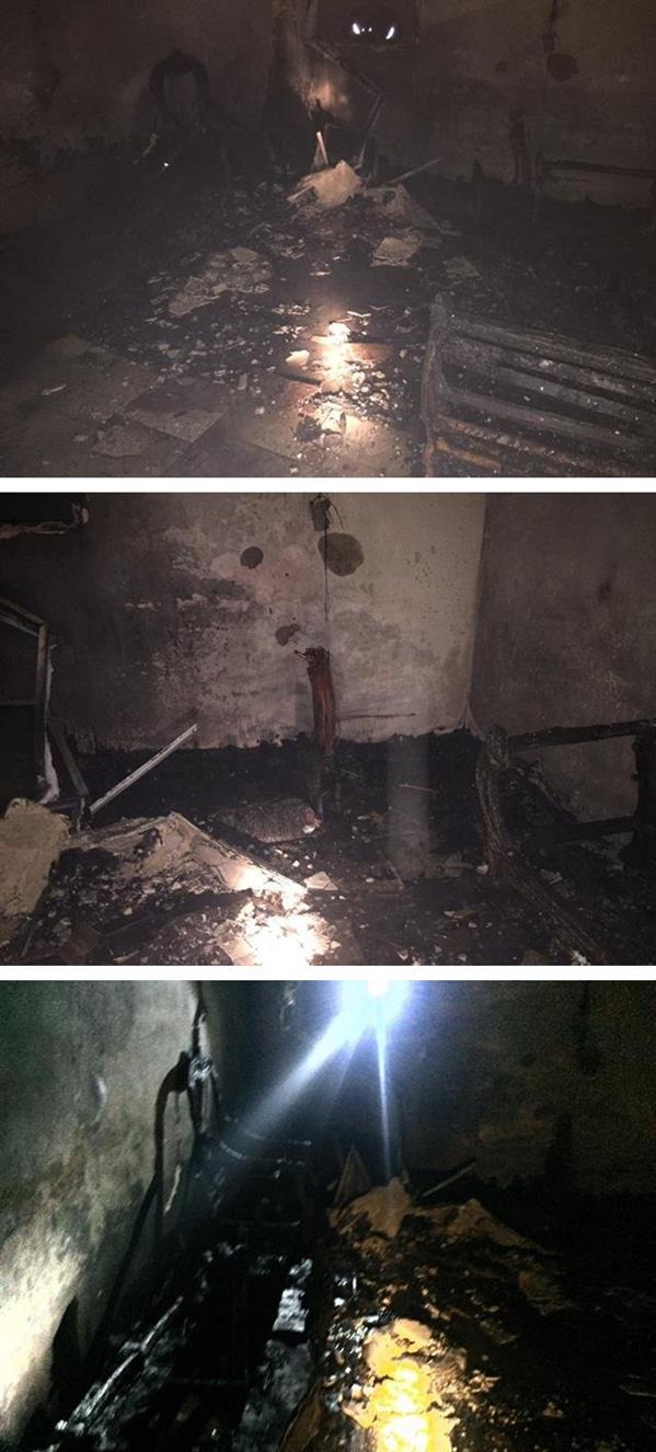 «التمديدات الرديئة» تحرق منزلاً بالمدينة