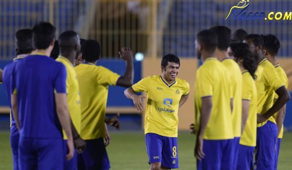 بالصور .. غامدي النصر في العيادة وداسيلفا يصارح اللاعبين