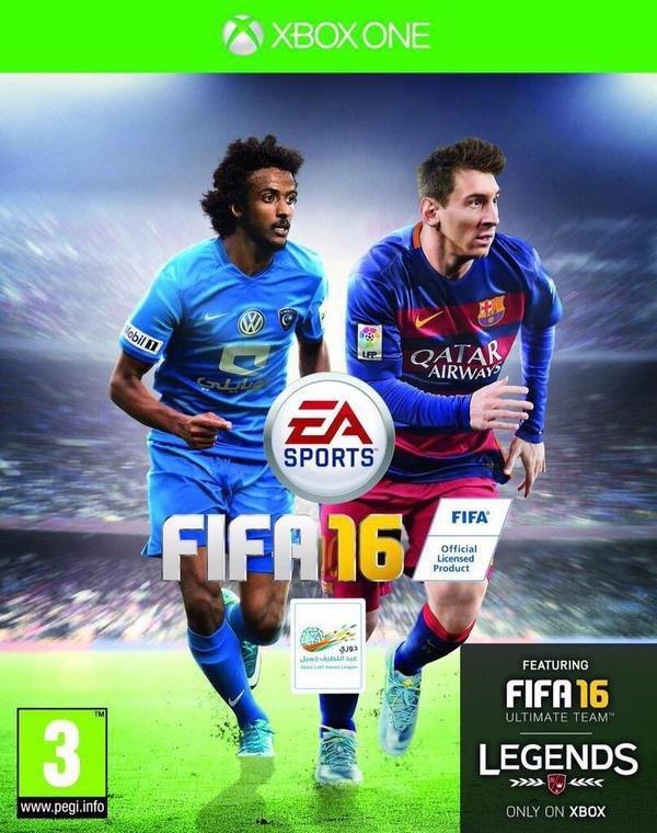 ياسر الشهراني يظهر على أغلفة «FIFA 16» ( صورة )
