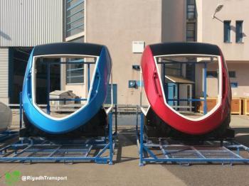 """بالصور.. شركة """"سيمنز"""" تبدأ تصنيع عربات قطارات المسارين الأحمر والأزرق"""