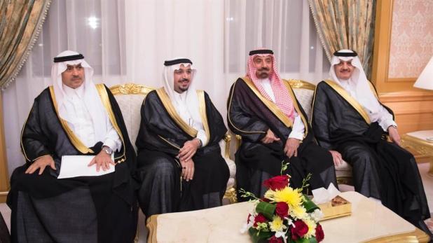 خادم الحرمين يستقبل أمراء المناطق