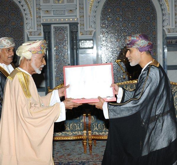 سلطان عمان قابوس بن سعيد