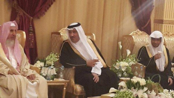 بالصور.. الشيخ المغامسي يحتفل بزواج نجله في حضور أمير المنطقة والمفتي وأئمة الحرمين