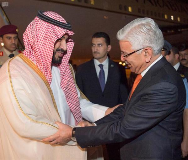 ولي ولي العهد يصل إلى جمهورية باكستان الإسلامية
