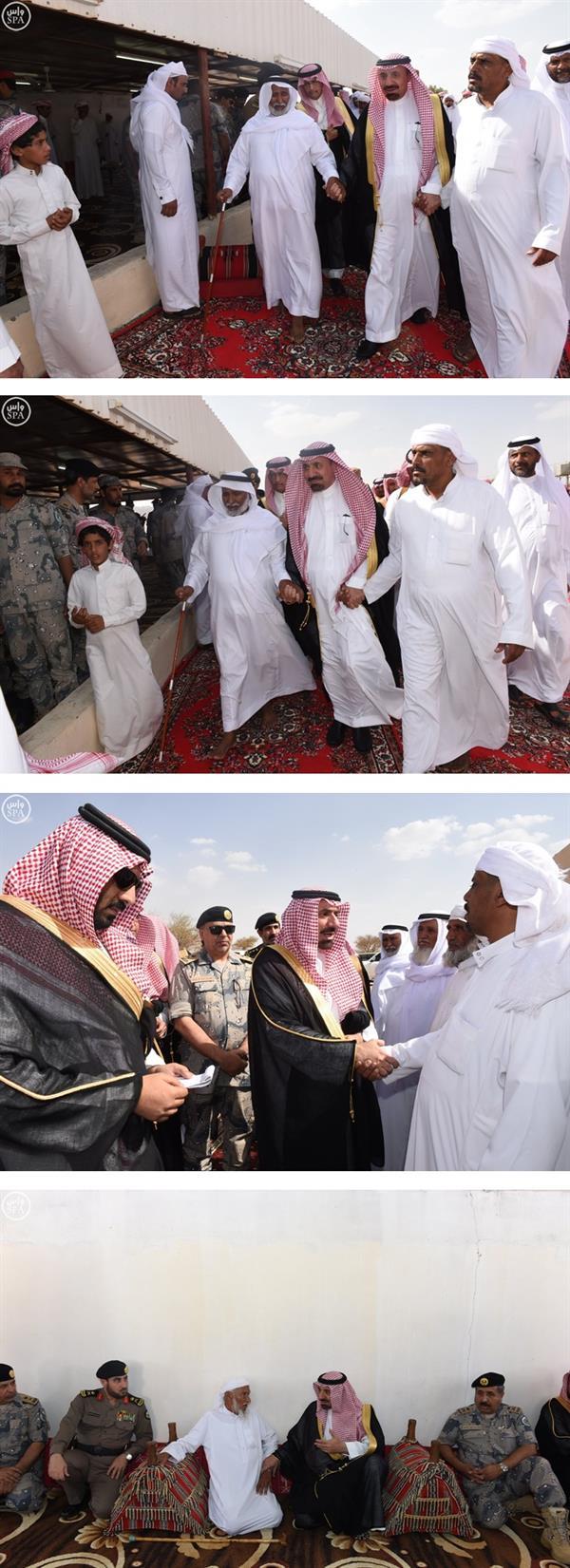 أمير نجران ينقل تعازي القيادة لأسرة الشهيد آل حارث