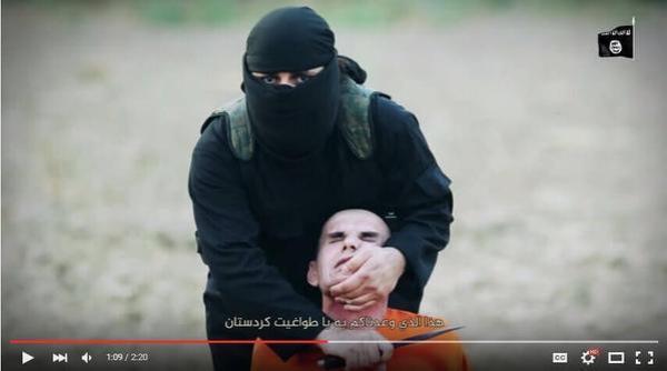 بالفيديو والصور.. .. داعش ينحر 7 عناصر من البيشمركة