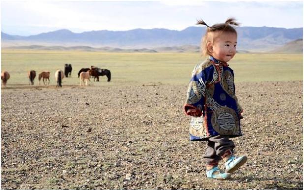 تغطي صحراء جوبي أجزاء من جنوب منغوليا وشمال غرب الصين، تتسم بدرجات حرارة مرتفعة جدًا نهارًا، وشديدة البرودة حد التجمد ليلأ، لك