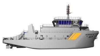 غداً.. تدشين أول سفينة بصناعة سعودية 100% لخفر سواحل الكويت (صور)