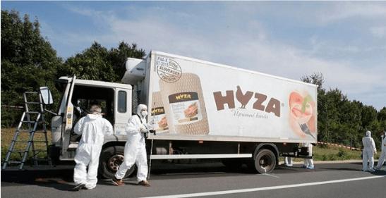 صورة للشاحنة
