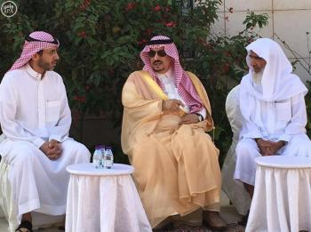 أمير الرياض يعزي في وفاة الدكتور عبدالله بن عثيمين