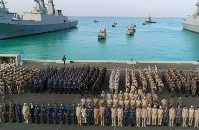 """نتيجة بحث الصور عن بدء فعاليات التدريب البحرى """"الموج الأحمر-1""""بمشاركة مصر والسعودية"""