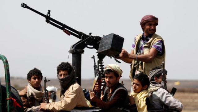 أفراد من ميلشيا الحوثي