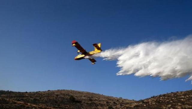 عمليات الإطفاء مستمرة بإسرائيل