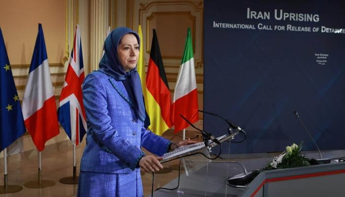 رئيسة الجمهورية المنتخبة من قبل المقاومة الإيرانية مريم رجوي
