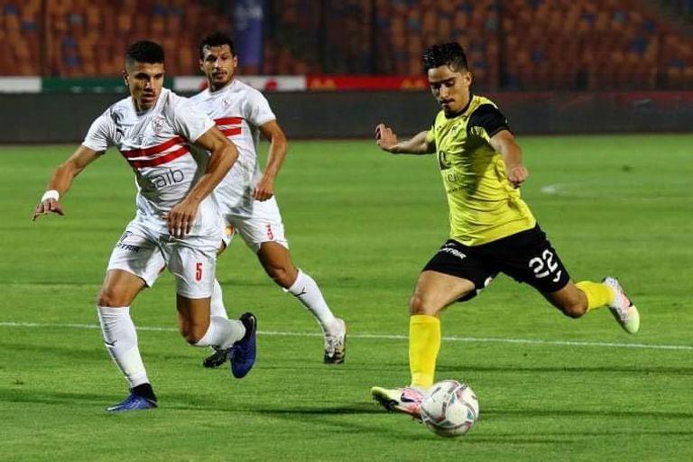 تعادل الزمالك 0-0 أمام وادي دجلة بالدوري المصري