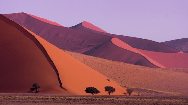 صحراء ناميبيا من أكثر الأماكن غرابة في العالم - أرشيفية