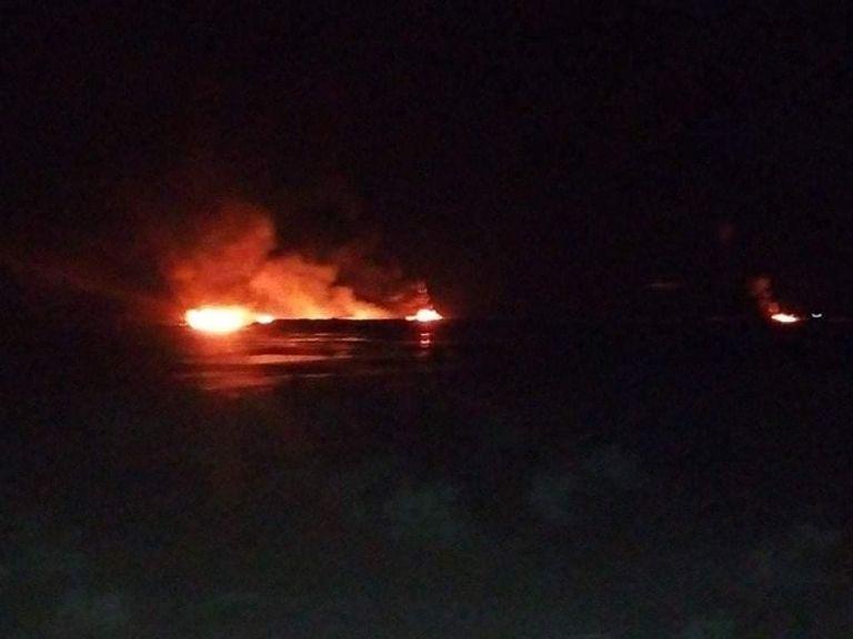 حريق في أنبوبي نفط جنوبي الجزائر على الحدود مع ليبيا