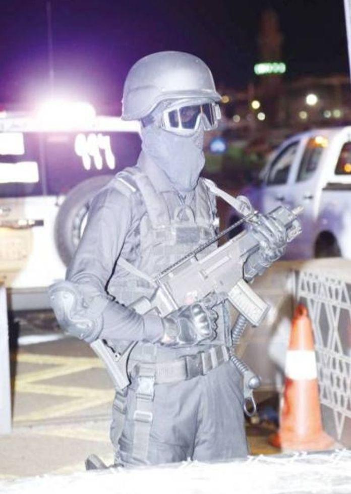 Rapid Intervention Forces - Source (Okaz)