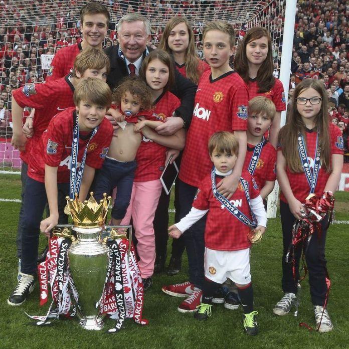Legendary Manchester United coach Alex Ferguson