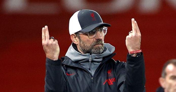 Liverpool coach Juergen Klopp