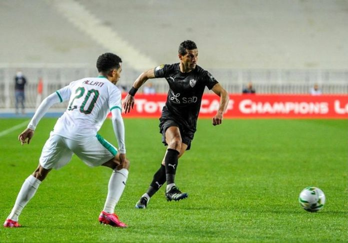 Zamalek against MC Algeria