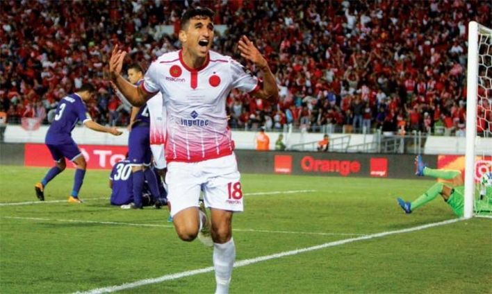 المغربي وليد الكرتي لاعب الوداد
