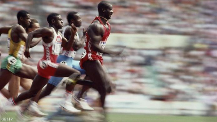 Canadian runner Ben Johnson