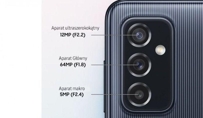 samsung galaxy m52 phone camera